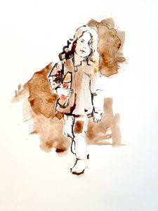 Meisje-met-sinterklaas-W-1